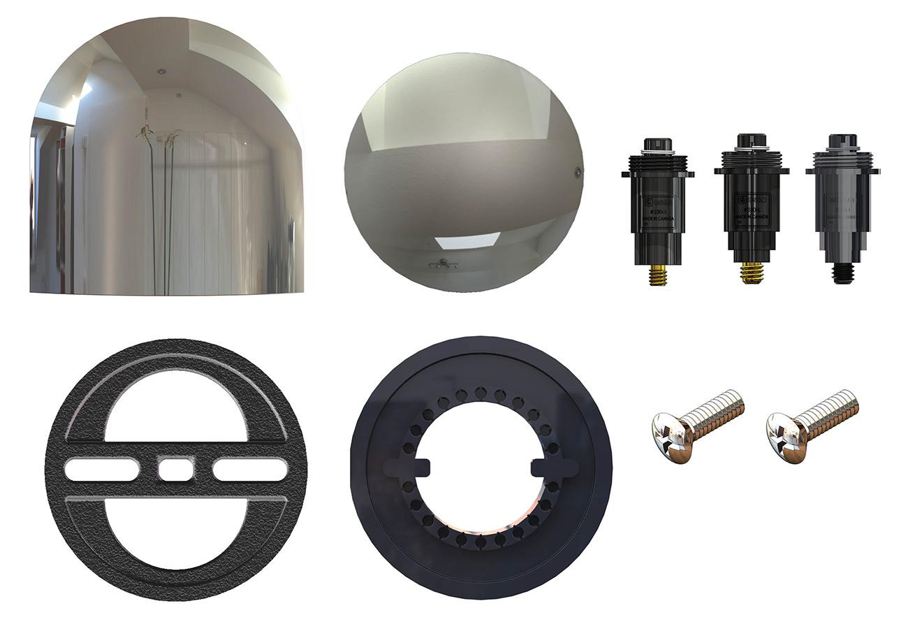 bath tub drain trim update kit