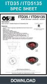 Freestanding Bath Tub Drain, Island Tub Drain™, ITD35, ITD5135